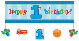 first_birthday_banner