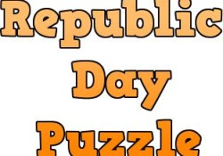 republic day puzzle