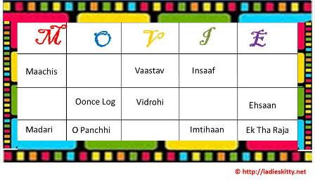 6 Bollywood Movies Tambola