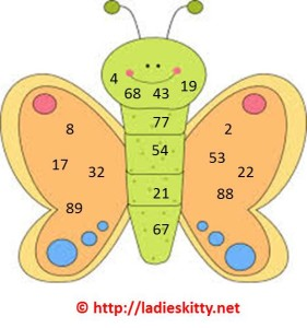 butterfly tambola game