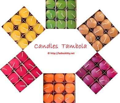 candles tambola