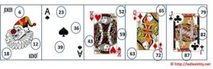 playing card tambola