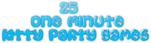 25_one_minute_kitty_party_games
