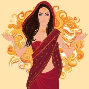 One minute party game - powerful indian women