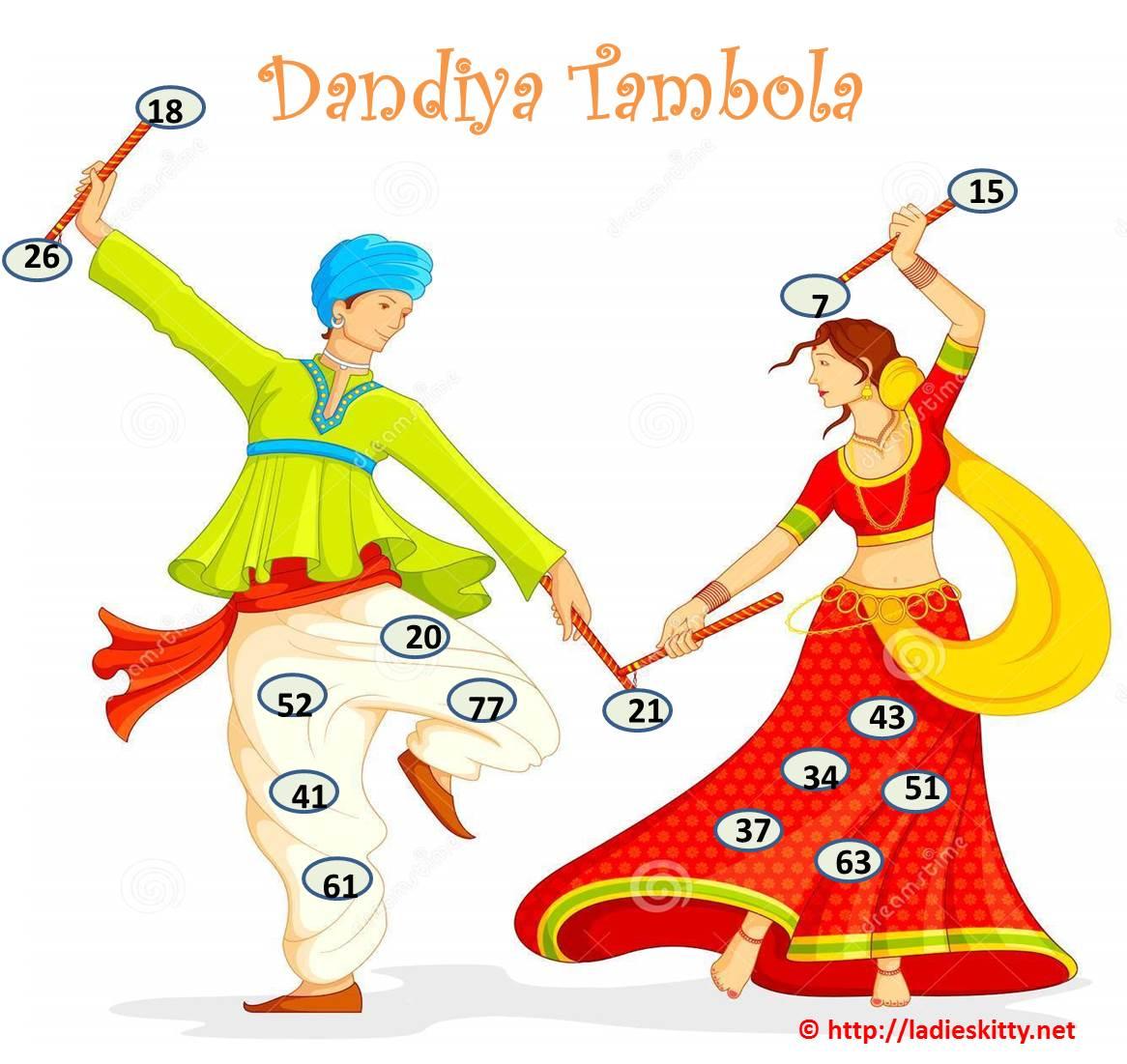 Home Design Game Ideas Dandiya Tambola Navratri Game Ladies Kitty