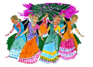 nine_forms_of_maa_durga_navratri_party_game