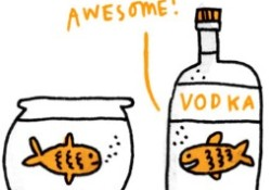 Vodka Race – New Year Party Game