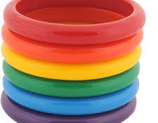 Colorful Bangles – One Minute Game