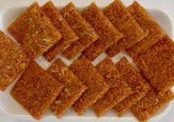 Nariyal Chikki Recipe – Janamashtmi Special