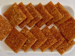 nariyal chikki recipe