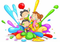 Cute-Childs-Plying-Holi
