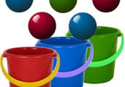 Bucket  & Ball – Party Game